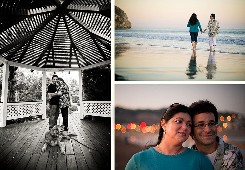 Engagement Session on Beach and Pier, Avila Beach