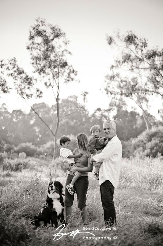 Family Portrait at Goletas Ellwood Mesa.