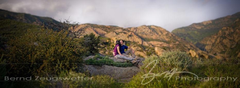 Engagement photography at Gaviota