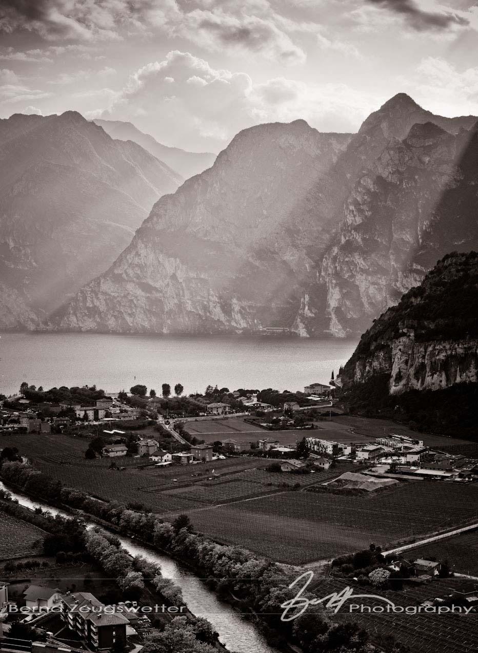 Arco, Lago di Garda, Italy.
