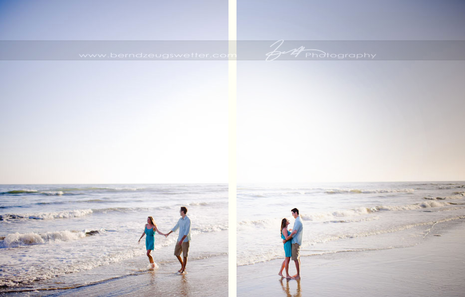 Engagement photos at Hendry