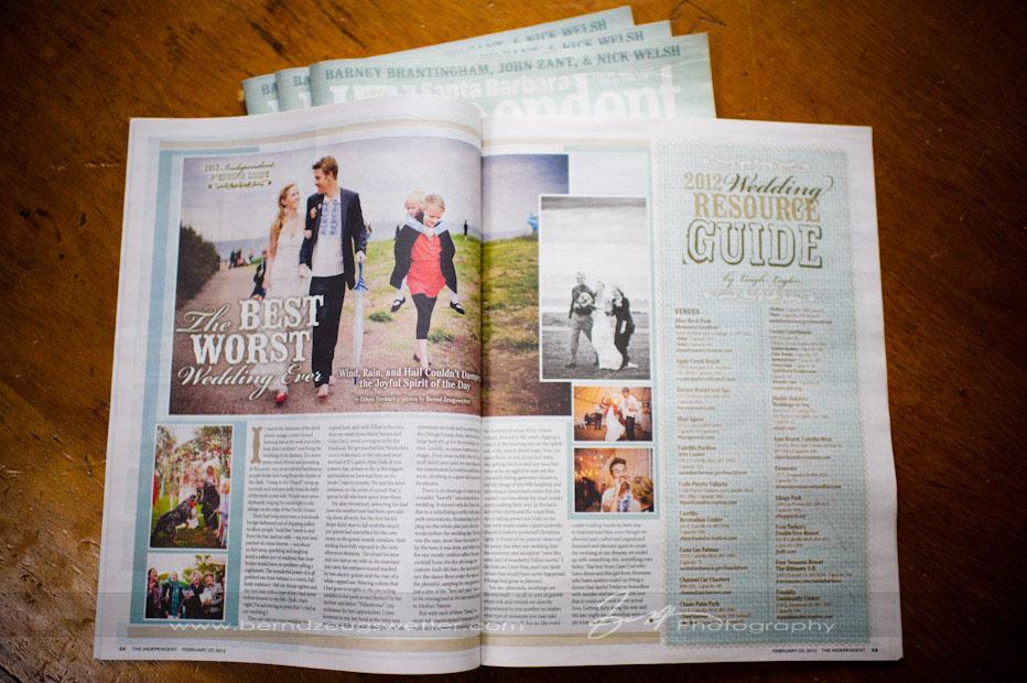 Santa Barbara Independent Wedding Issue.