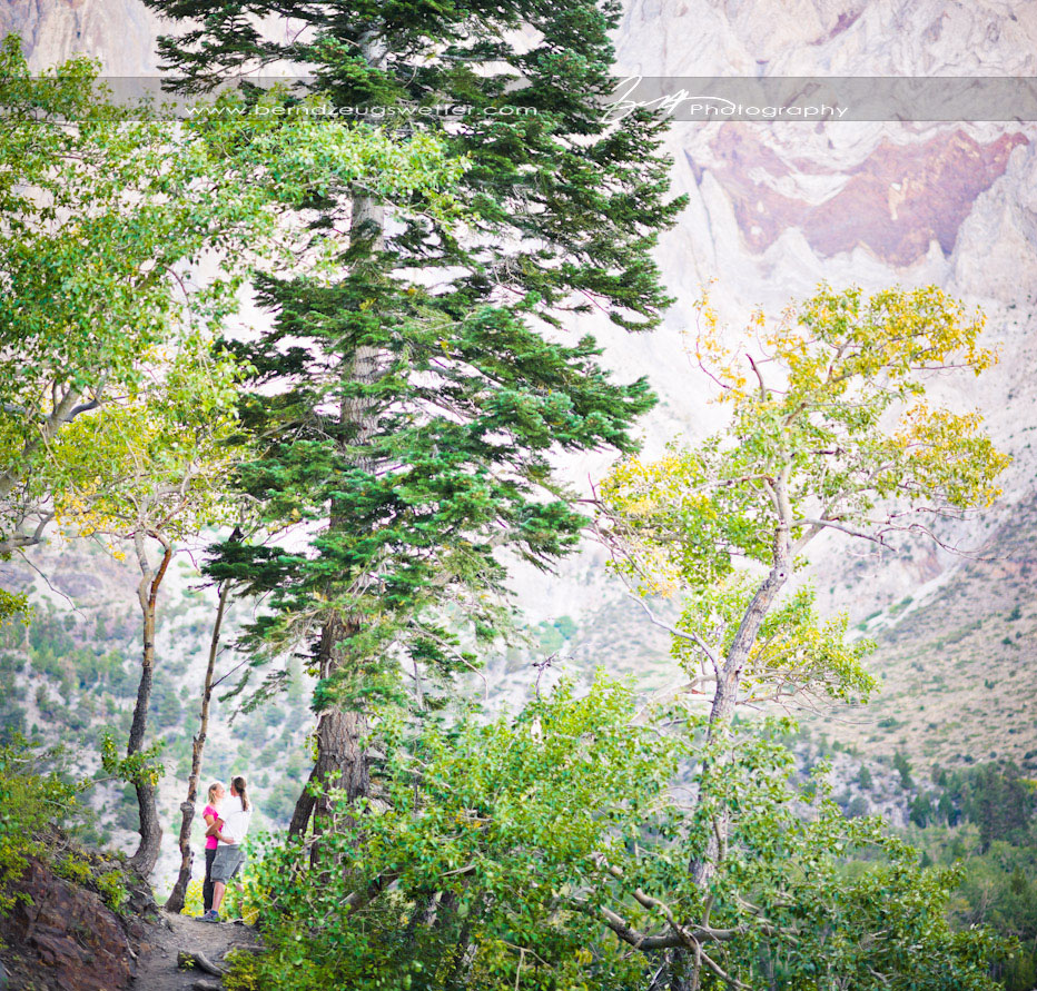 Convict Lake engagement portraits, Mammoth Lakes wedding photographer.