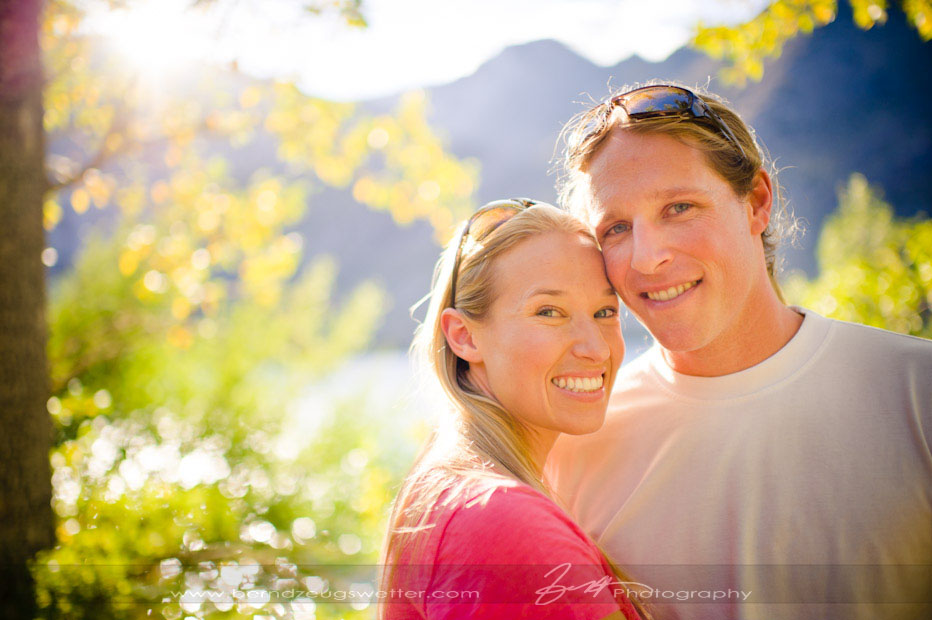 Convict Lake engagement portrait, Mammoth wedding photographer.