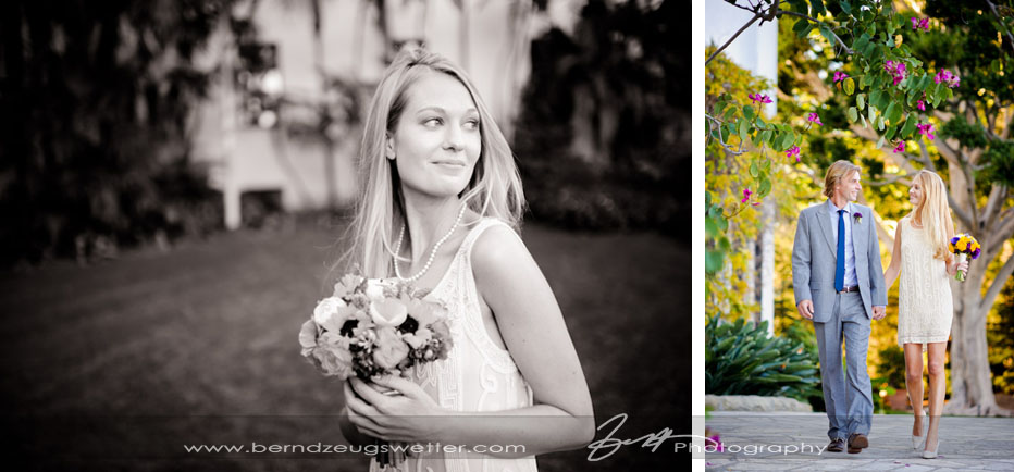 Santa Barbara Courthouse Wedding Photos