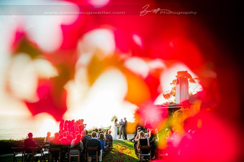 Santa Barbara oceanfront wedding