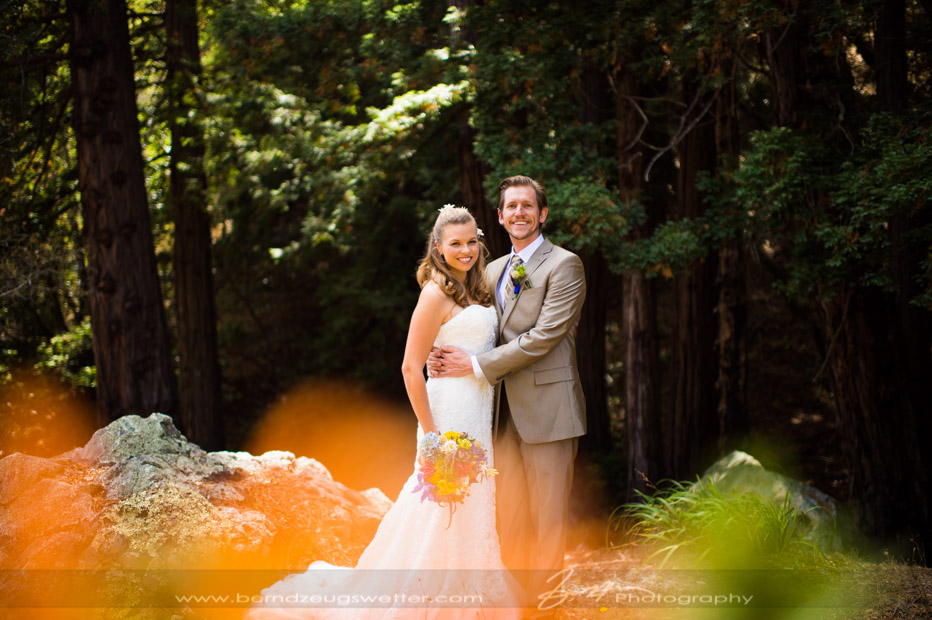 Big Sur wedding, portrait of couple