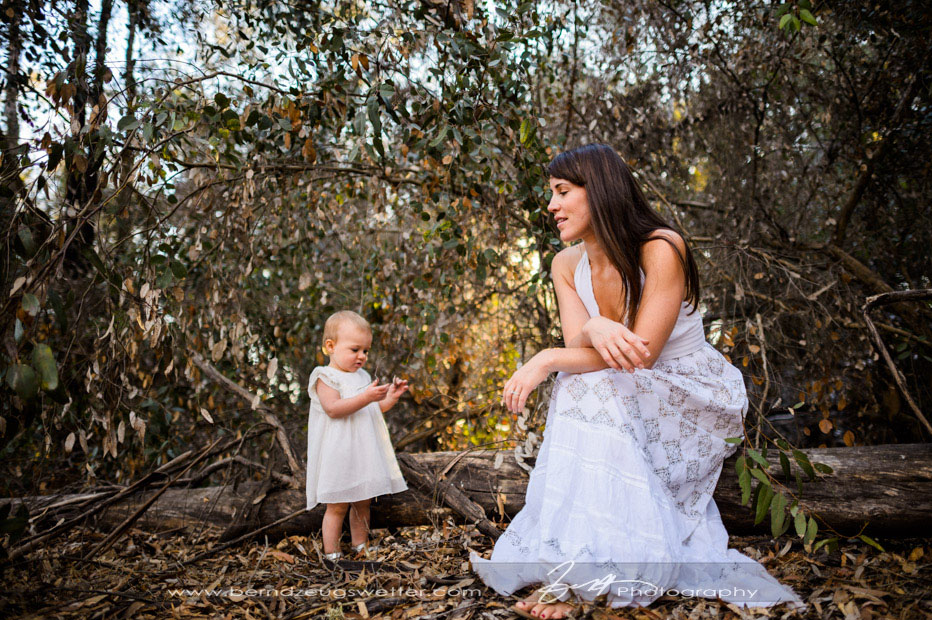 Mother and daughter portrait at Ellwood Mesa, Goleta.