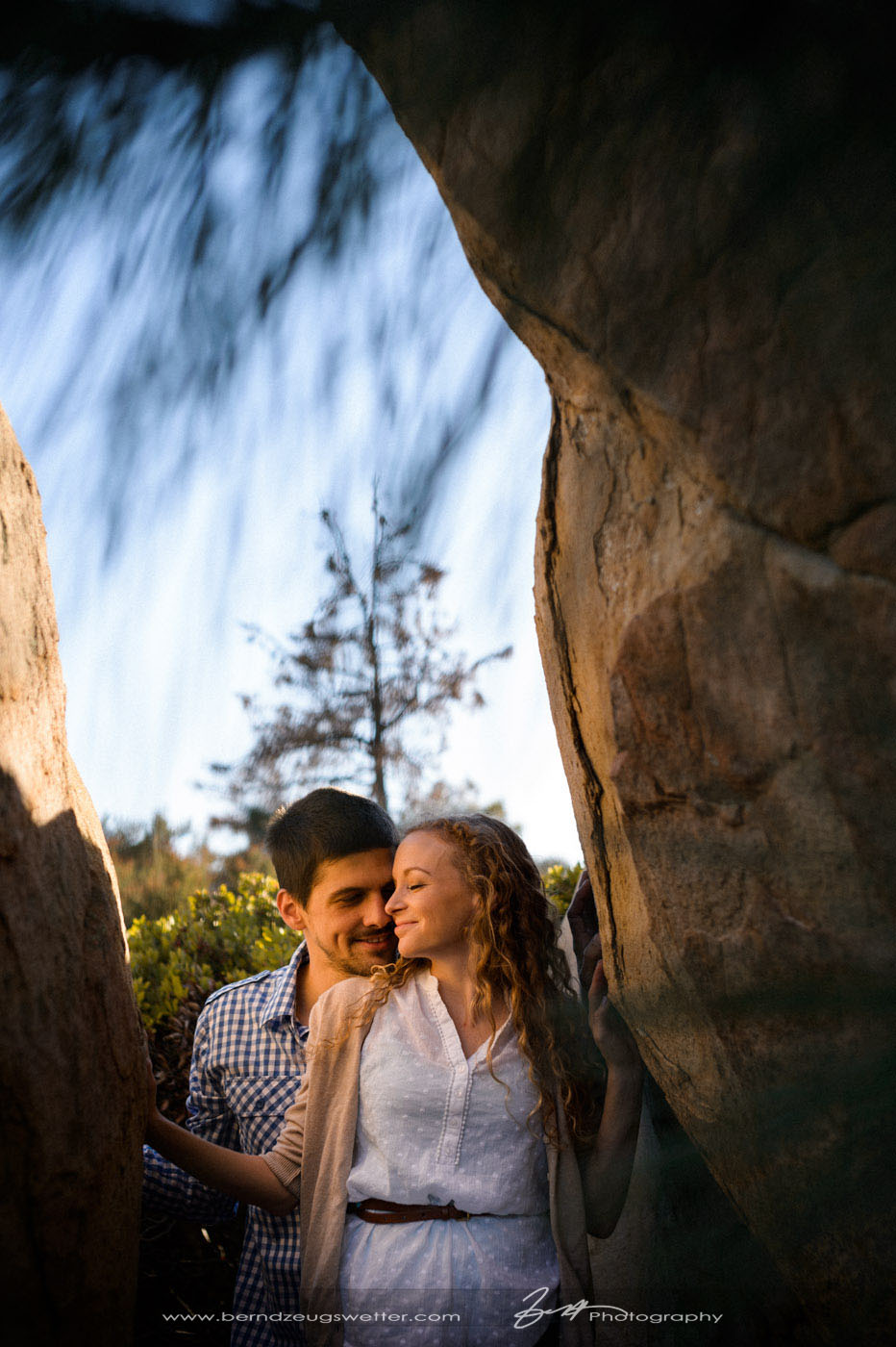 Santa Barbara wedding photographer engagement session.