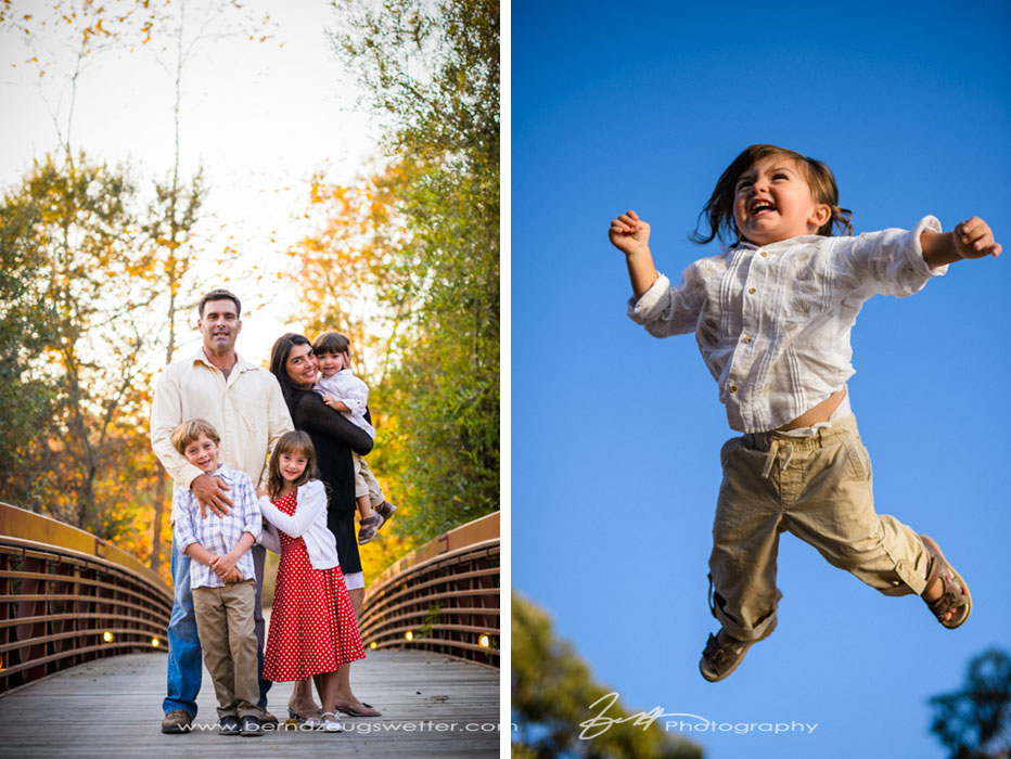 Santa Barbara family portrait session.