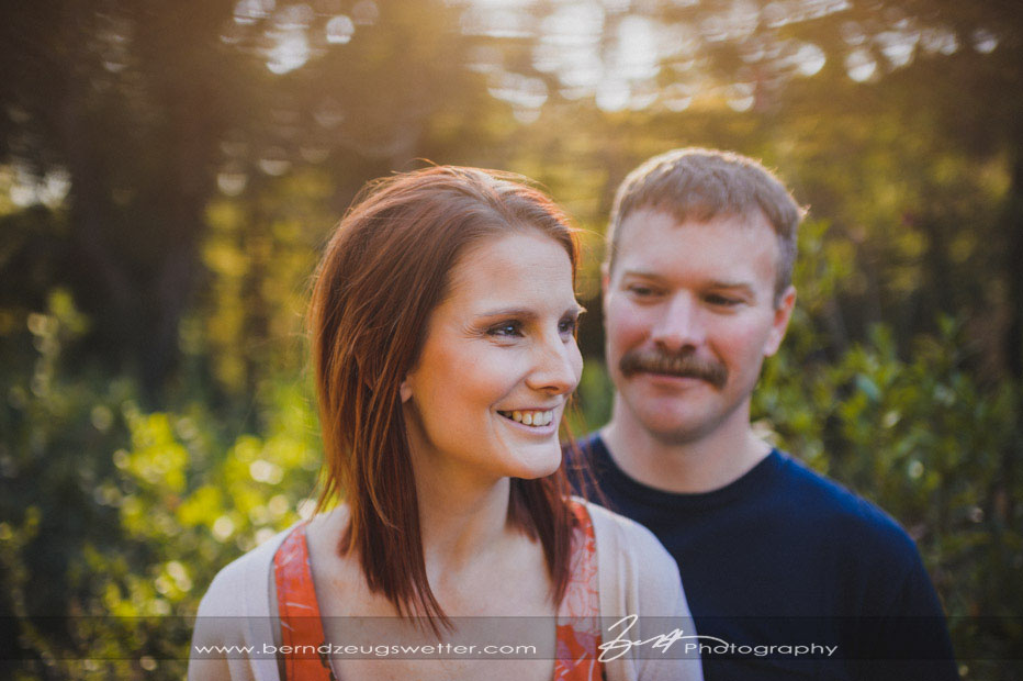 Santa Barbara engagement photos, Botanic Gardens.