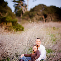 Engagement portraits at the old Wilcox property.