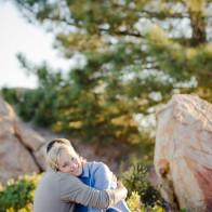 Santa Barbara engagement portraits.