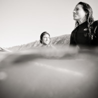 underwater and surfing photos of couples in Santa Barbara
