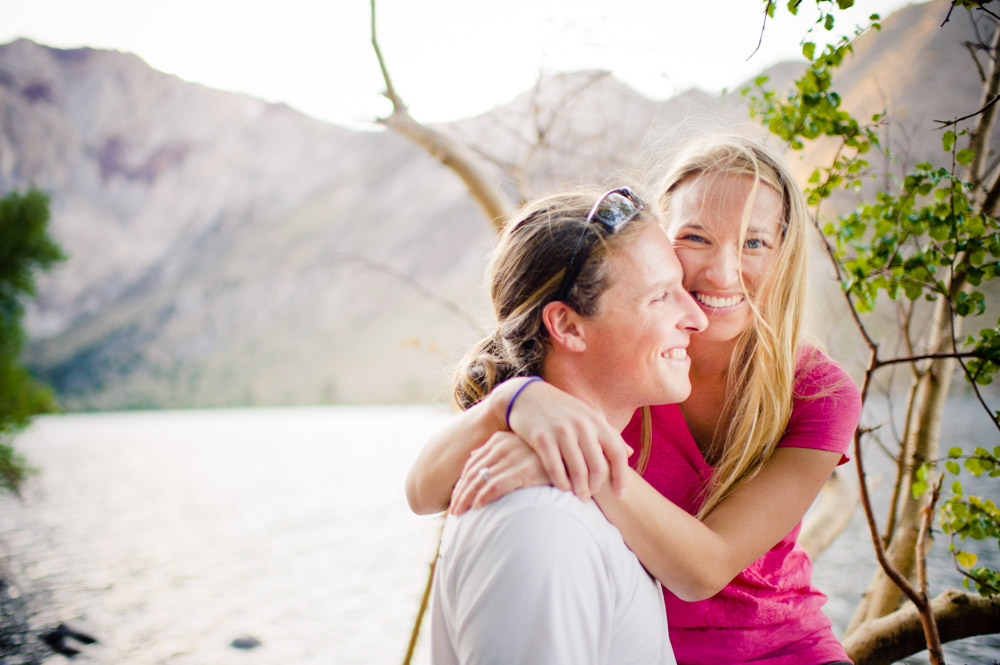 Engagement session in the Eastern Sierra Nevada.