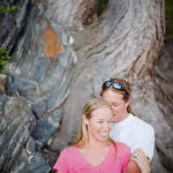 engagement photogaphy at Convict Lake.