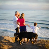 Santa Barbara family photography, Ellwood Bluff.