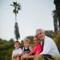 Family photo session at Ellwood Bluffs, Santa Barbara.