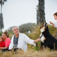 Family Portrait session, Santa Barbara, California.