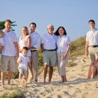 Big family photographs in Santa Barbara.